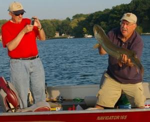 Rick's 40 inch muskie