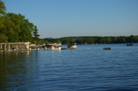 two of the three pontoons